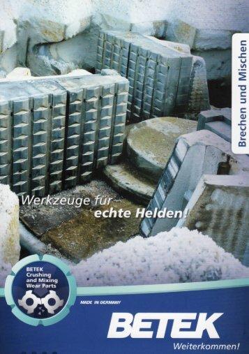 VerschleiBwerkzeuge fur VSI-Brecher - Euro-Tech Plus