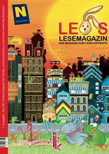 Leos Lesemagazin PDF - Produktionswerkstatt