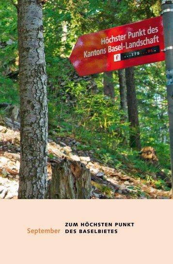 Detailinformationen für die Wanderung zum höchsten Punkt im ...