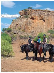 Reitersafari in Botswana - Limpopo Horse Safaris