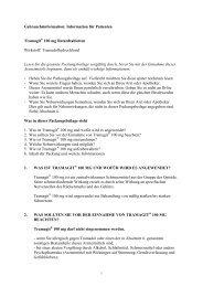 Gebrauchsinformation: Information für den Anwender - Krewel ...