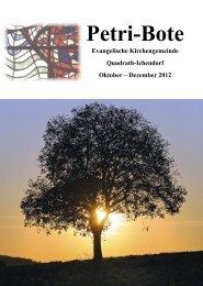 Ausgabe 4/2012 - Evangelisch-in-qi.de