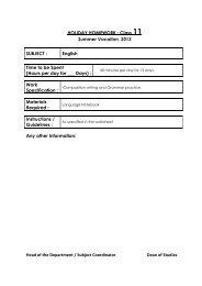 sanskaar valley school homework