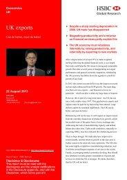 HSBC: UK Exports Report August 2013 - Albion Overseas