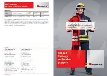 Rescue Package zu Sonder- preisen! - Rosenbauer International AG