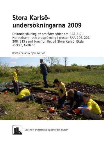 Stora Karlsö - Södertörns högskola