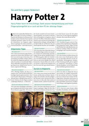 Harry Potter 2 - GameStar