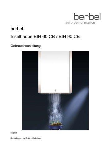 berbel- Inselhaube BIH 60 CB / BIH 90 CB - Wesco