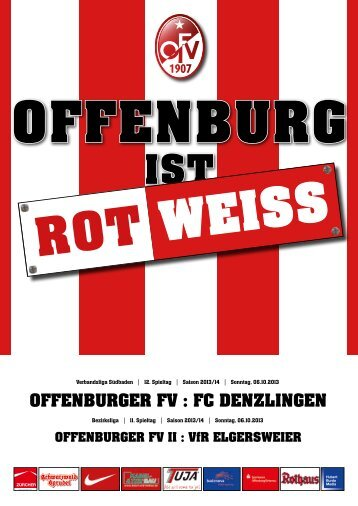 Offenburg... ROT-WEISS - Offenburger FV