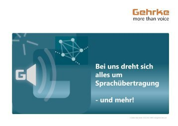 Produktportfolio (deutsch   pdf   1,6 mb) - Gehrke