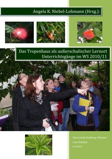 Das Tropenhaus als außerschulischer Lernort Unterrichtsgänge im ...