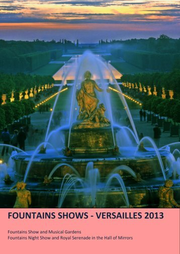 fountains shows - Château de Versailles Spectacles