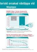 Luktfria NASONEX lindrar effektivt symtomen vid olika former av ... - Page 7