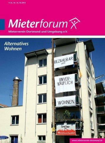 III/2013 - Mieterverein Dortmund und Umgebung eV