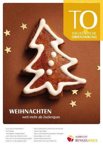 Nr. 164, Oktober-Dezember 2011 - Albrecht-Bengel-Haus