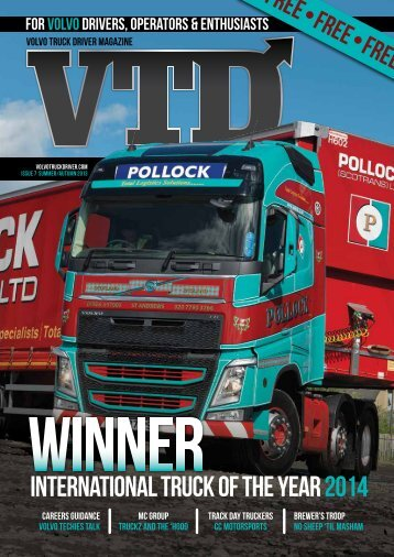 to open our 7th edition - volvotruckdriver