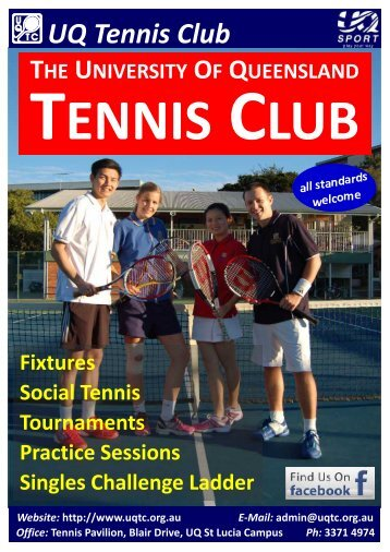 UQ Tennis Club - University of Queensland Tennis Club