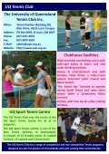 UQ Tennis Club - University of Queensland Tennis Club - Page 2