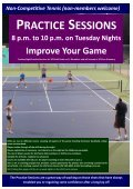 UQ Tennis Club - University of Queensland Tennis Club - Page 4