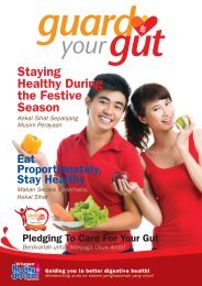 Staying Healthy During the Festive Season - Vitagen