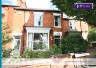 Queens Crescent, West End, Lincoln - JHWalter