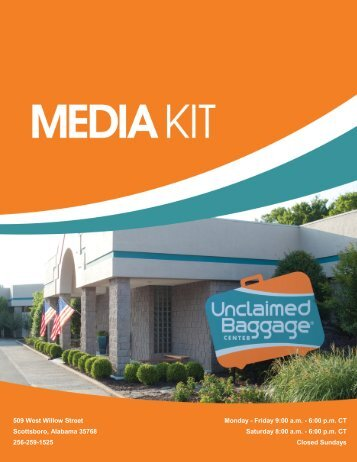 here - Unclaimed Baggage Center