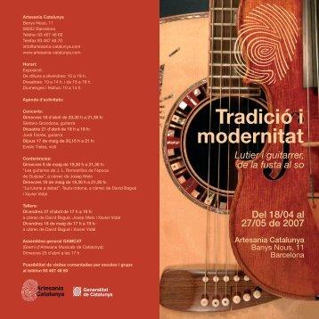 Tradició i modernitat - CCAM