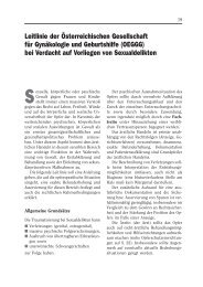 Checkliste Sexualdelikte - Österreichische Gesellschaft für ...