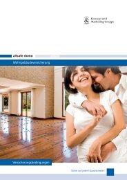 allsafe domo Wohngebäudeversicherung Versicherungsbedingungen
