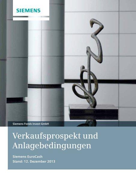 Verkaufsprospekt - Financial Services - Siemens AG
