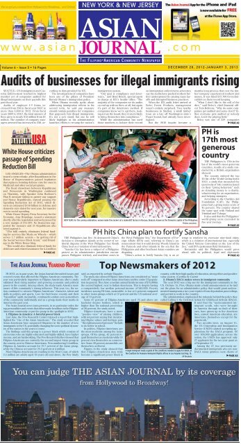 December 28, 2012-January 3, 2013 - Asian Journal Digital Editions