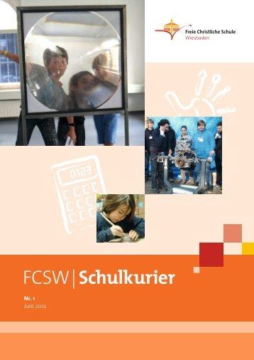FCSW | Schulkurier - Freie Christliche Schule Wiesbaden