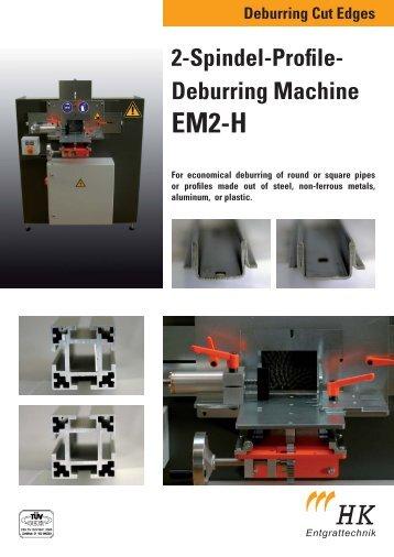2-Spindel-Profile- Deburring Machine - HK-Entgrattechnik