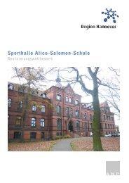 Sporthalle Alice-Salomon-Schule