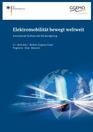 Vita - Elektromobilität bewegt weltweit