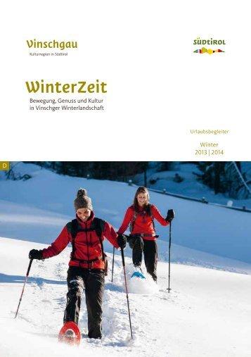 Urlaubsbegleiter Winter - im Ortlergebiet