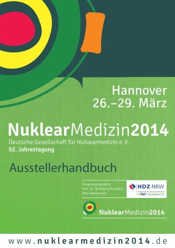 NUKMED14 Ausstellerhandbuch - Nuklearmedizin 2014