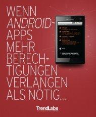 Wenn Android Apps mehr Berechtigungen verlangen ... - Trend Micro