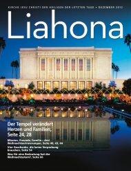 Dezember 2012 Liahona - Kirche Jesu Christi der Heiligen der ...