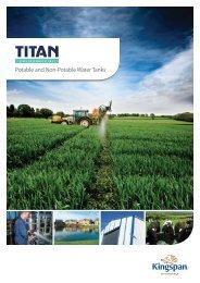 Potable and Non-Potable Water Tanks - Kingspan Environmental