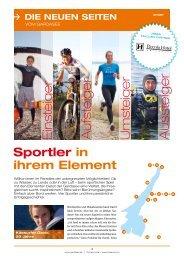Sportler in ihrem Element - Gardasee