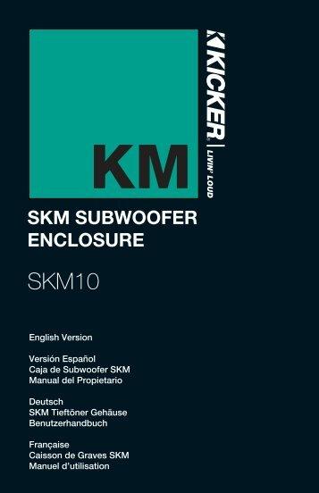 skm subwoofer enclosure - Maritiem24