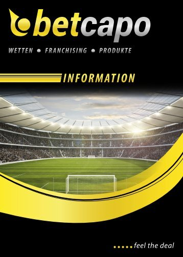 Wetten - Franchising - Produkte - bei betcapo Sports and Gambling ...