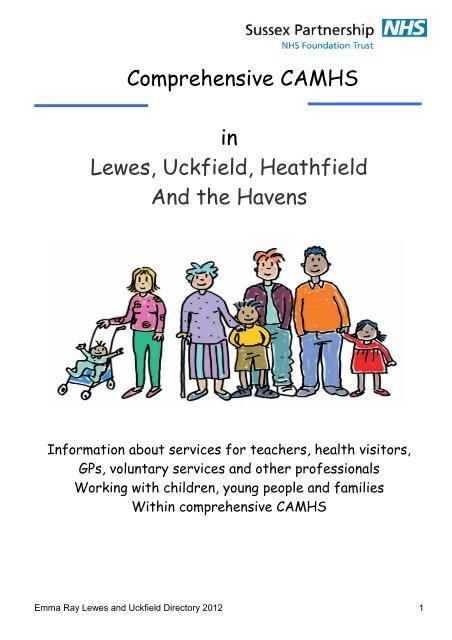 Lewes, Uckfield, Heathfield and Havens CAMHS directory