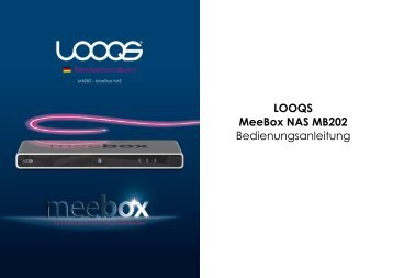 Die Benutzung Ihrer MeeBox - Looqs.com