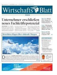 Unternehmer erschließen neues ... - wirtschaftsblatt.at