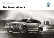 Der Passat Alltrack - Volkswagen AG