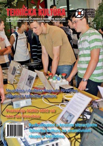Tehnička kultura 231-232 - Hrvatska zajednica tehničke kulture