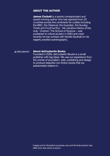 Everton Encyclopedia Catalogue - deCoubertin Books