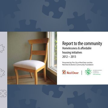 2013 Red Deer Community Housing Annual Report - capra